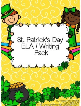 St. Patrick's Day ELA / Writing Pack