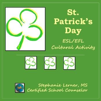 St. Patrick's Day ESL/EFL Cultural Activity