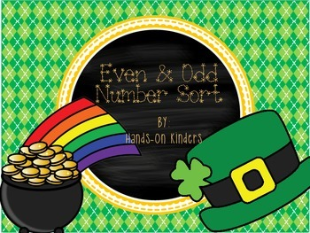 St. Patrick's Day Even and Odd Sort