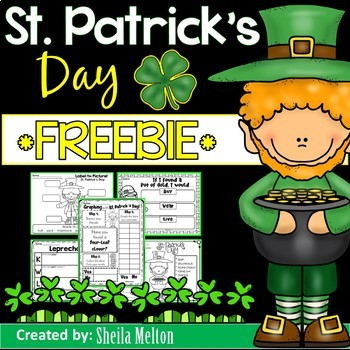 St. Patrick's Day NO PREP FREEBIE!