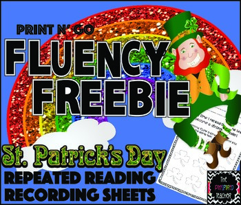 St. Patrick's Day Fluency Freebie: Repeated Reading Record