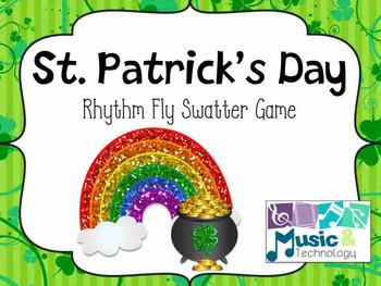 St. Patrick's Day Fly Swatter Rhythm Game