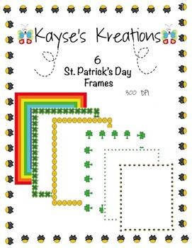 St. Patrick's Day Frames