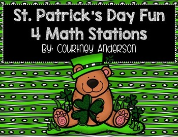 St. Patrick's Day Math Centers with Double & Triple Digit