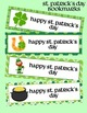 St Patrick's Day Gift Bundle - Bookmarks, Gift Tags, Treat
