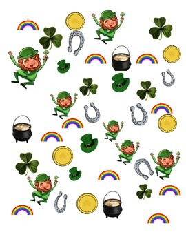 St. Patrick's Day Graphing and More - Kindergarten