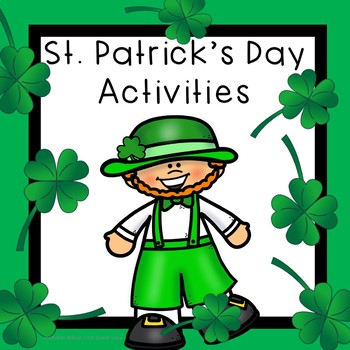 St. Patrick's Day Interactive Reading Activities, Digraphs