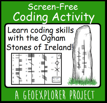 Ireland history project learning about Ogham stones