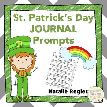 St. Patrick's Day Journal: 25 Journal Writing Prompts