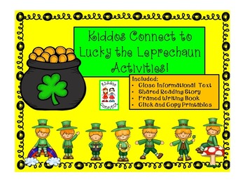 St. Patrick's Day - Kiddos Connect to Lucky the Leprechaun