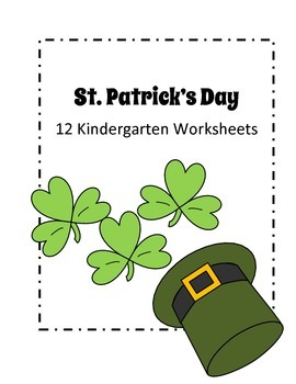 St. Patrick's Day Kindergarten Worksheets