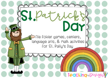 """St. Patrick's Day """"L is for Luck"""" Unit"""