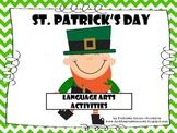 St. Patrick's Day Language Arts Activities
