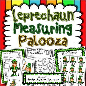 St. Patrick's Day Measuring - Leprechaun Measuring Palooza