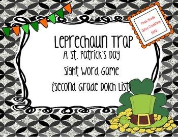 St. Patrick's Day Leprechaun Trap {Second Grade Printable