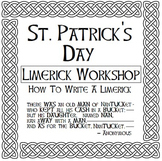St. Patrick's Day Limerick Workshop - Write a Poem