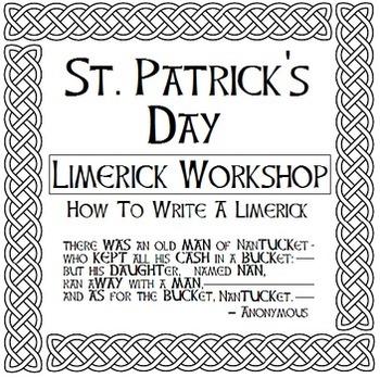 St. Patrick's Day Limerick Workshop - Write a Poem