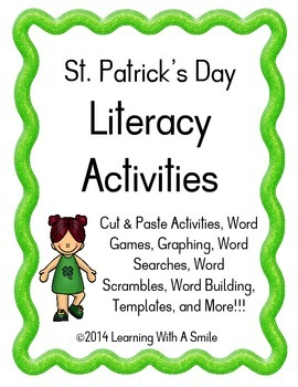 St. Patrick's Day Literacy Activities ~ Quick and Easy Lit