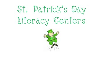 St. Patrick's Day Literacy Activities/Centers