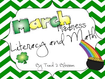 St. Patrick's Day Literacy & Math