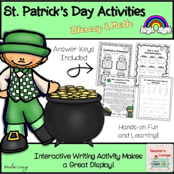 St. Patrick's Day Literacy & Math Activities