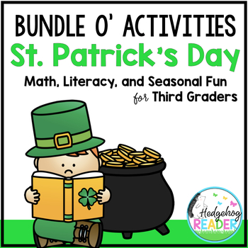Bundle o' St. Patrick's Day Literacy & Math Activities for