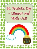 St. Patrick's Day Literacy and Math Thematic Unit