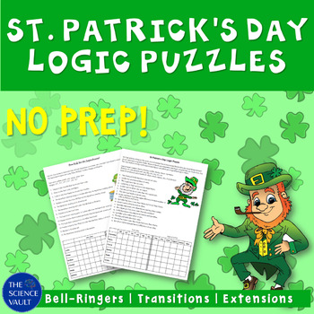 St Patrick's Day Logic Puzzle - Great for Critical Thinkin