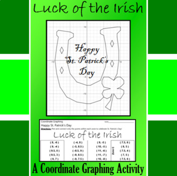 St. Patrick's Day - Luck of the Irish -  A Coordinate Grap