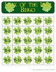 St. Patrick's Day Luck of the Irish Bingo - 30 Unique Cards!