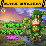 St. Patrick's Day Math Review - Grade 4