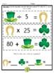 St. Patrick's Day Math Brain Teasers - 8 Mathematical Prac