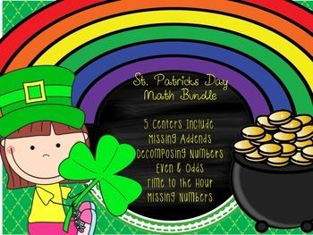 St. Patrick's Day Math Bundle