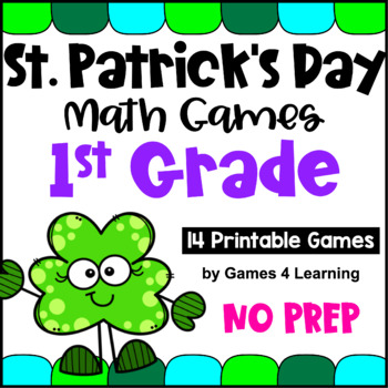 St. Patrick's Day Activity: St. Patrick's Day Math Games F