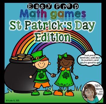 St Patricks Math Games