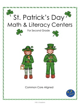 St. Patrick's Day Math & LIteracy Centers/Task Cards