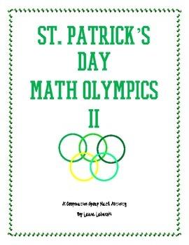 St. Patrick's Day Math Olympics II