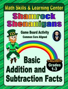 St. Patrick's Day Math Skills & Learning Center; Addition