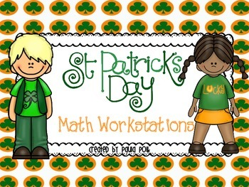 St Patrick's Day Math Stations