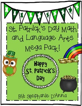 St. Patrick's Day Math and Language Arts Activities