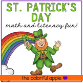 St. Patrick's Day Math and Literacy Fun Packet!