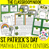 St. Patrick's Day Math and Literacy Fun for Intermediate Students