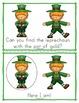St. Patrick's Day Worksheets Emergent Reader Task Cards