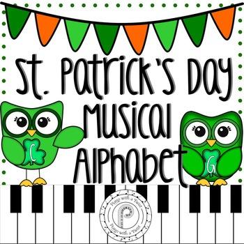 St. Patrick's Day Music Game: Musical Alphabet
