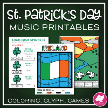 St. Patrick's Day Music Worksheets