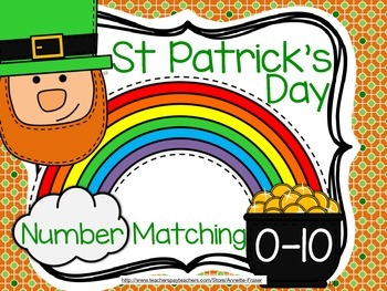 St Patrick's Day Number Matching
