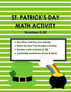 St. Patrick's Day Numbers 0-30