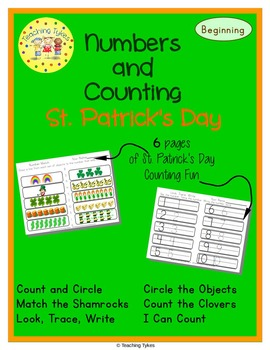 St. Patrick's Day Number sense and Numeration Numbers and