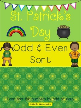 St. Patrick's Day Odd and Even Sort