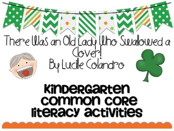 March St. Patrick's Day Old Lady Clover Common Core Litera